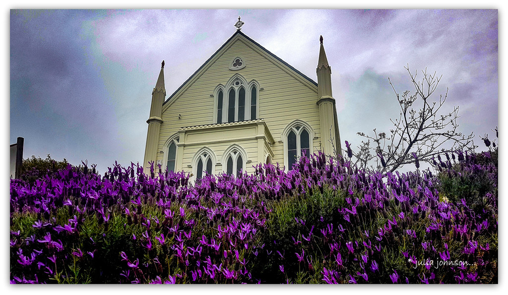 Lavender and Church.. by julzmaioro