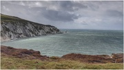 9th Oct 2020 - The Needles - I should have zoomed in a bit but it was a very windy, cold day so we didn't stay long!