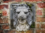 12th Oct 2020 - Old stone lion water feature - Walled Gardens, Sheffield