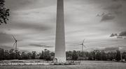 12th Oct 2020 - Wind turbines near and far...