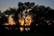 13th Oct 2020 - Sunset on White Rock Lake