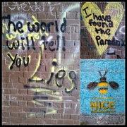 13th Oct 2020 - Colourful Graffiti