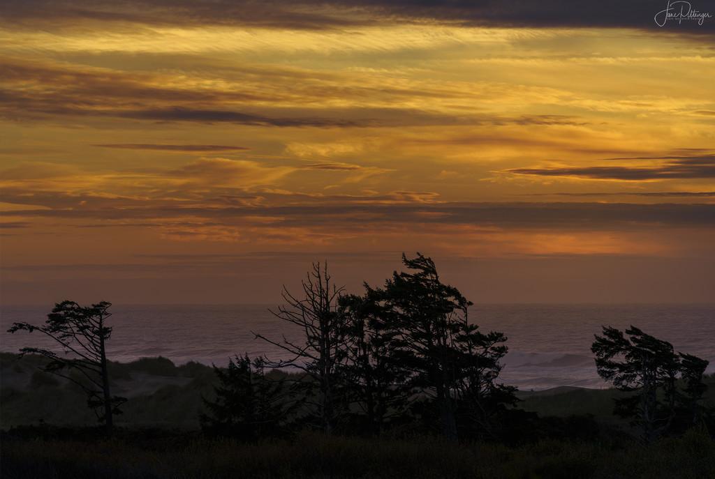 Sunset Over Baker Beach by jgpittenger