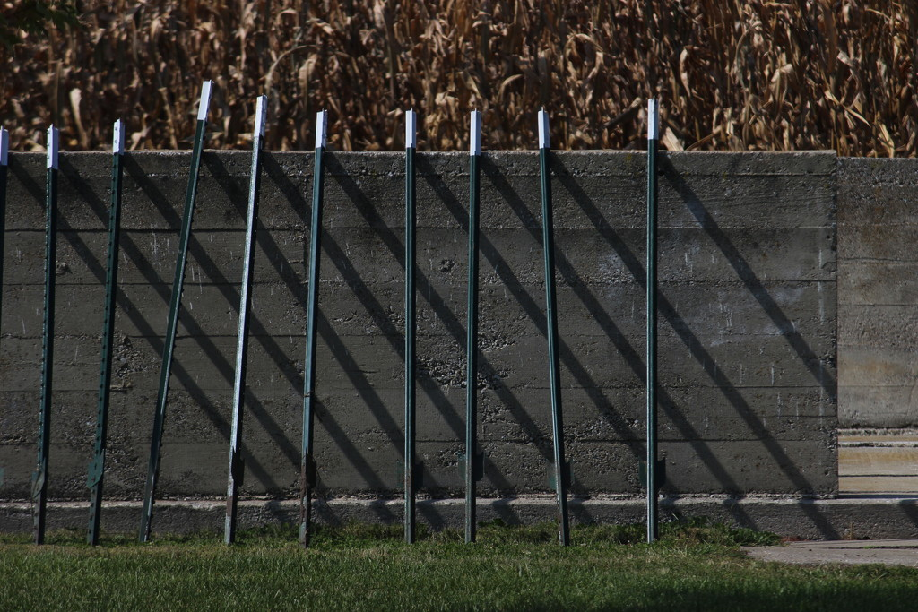 Snow Fence Rails by themusketeers