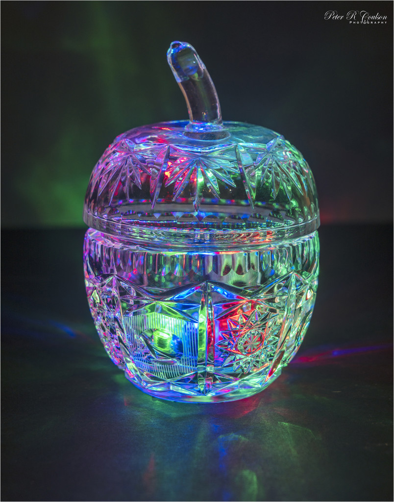 Cut Crystal Apple by pcoulson