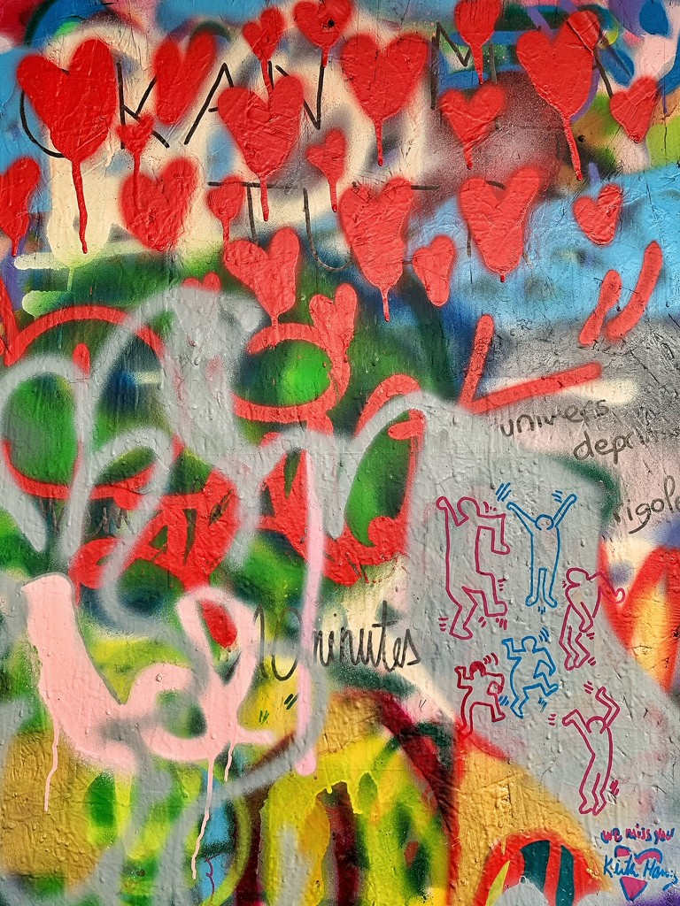 A lot of red hearts.  by cocobella