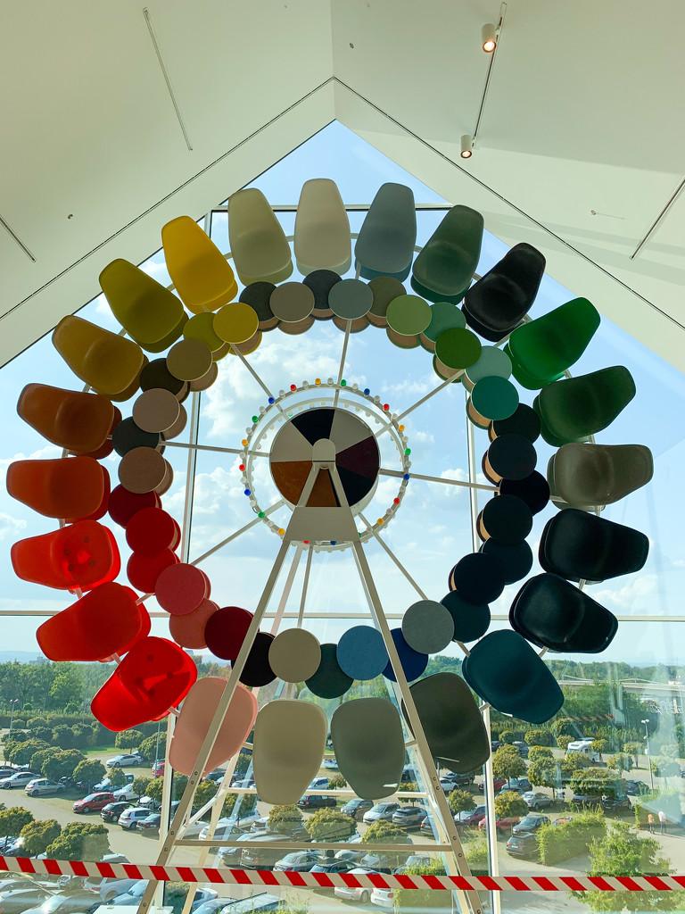 Wheel of colors.  by cocobella