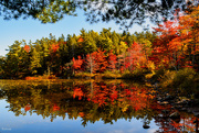 11th Oct 2020 - Colours reflecting on Second Lake