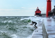 13th Oct 2020 - Surfs Up at Grand Haven
