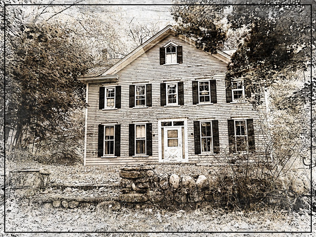 Old Farmhouse Edit 2 by olivetreeann
