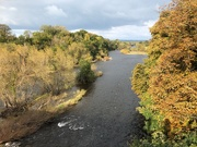 15th Oct 2020 - The River Wye from the Bridge at Hay