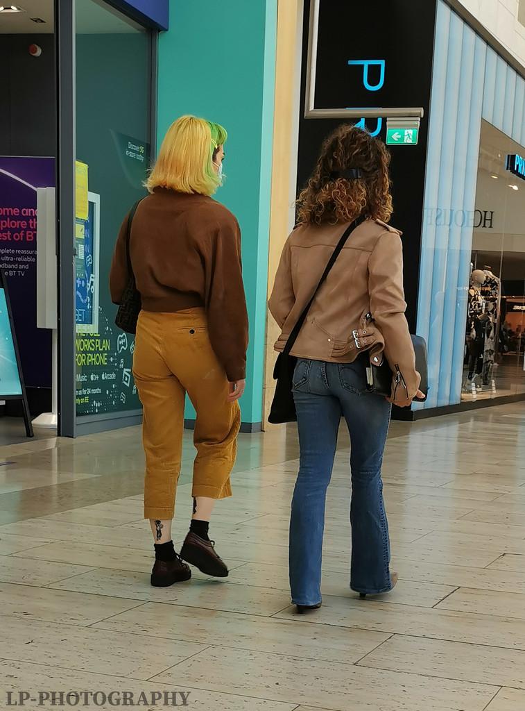 People Shopping by tiredpanda