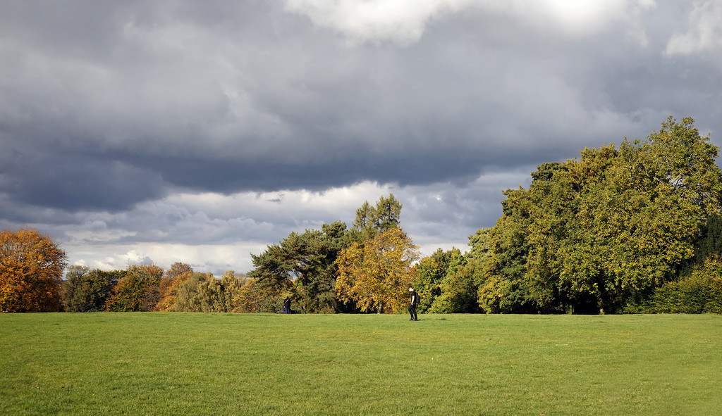 Autumn Colours and Big Skies over Woodthorpe Park by phil_howcroft