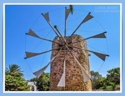 16th Oct 2020 - Windmill,Toplou Monastery,Crete