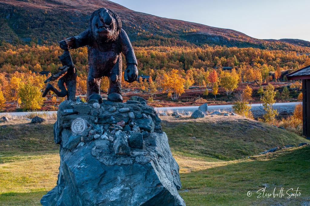 Dovregubben (Norwegian troll) by elisasaeter