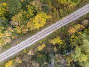 16th Oct 2020 - Railroad Tracks in Autumn