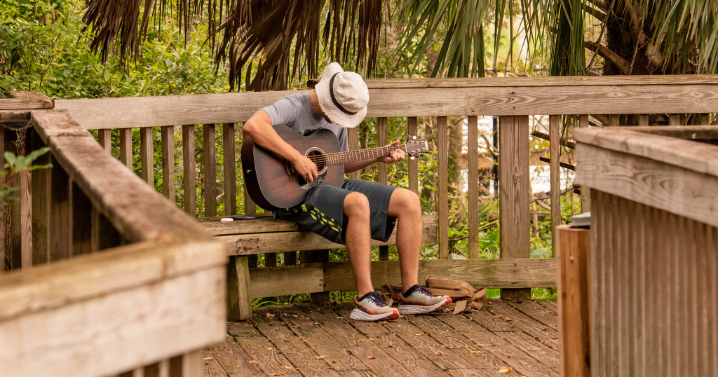 Guitar Guy on the Boardwalk! by rickster549