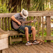 Guitar Guy on the Boardwalk!