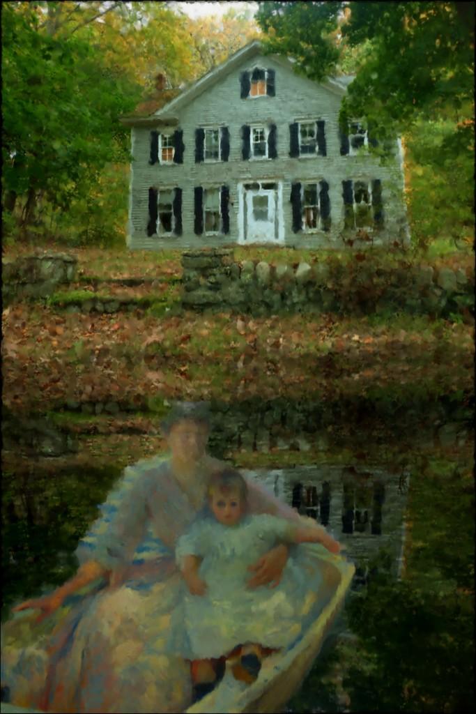 Old Farmhouse Edit 5 by olivetreeann