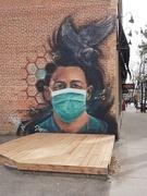 17th Oct 2020 - Covid Mural