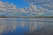 17th Oct 2020 - MERSEY GATEWAY WITH COLOUR