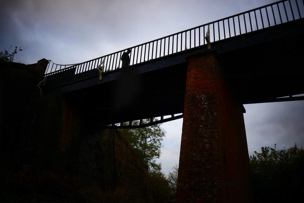 Under the aqueduct  by photopedlar