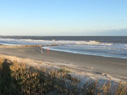 18th Oct 2020 - My shadow photographing the Atlantic Ocean off the coast of South Carolina