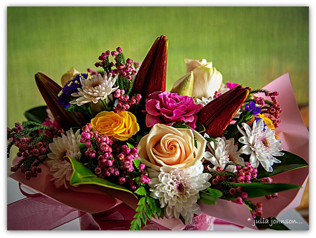A floral surprise... by julzmaioro