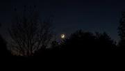 19th Oct 2020 - Crescent Moon