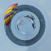 20th Oct 2020 - Parasailing Little Planet