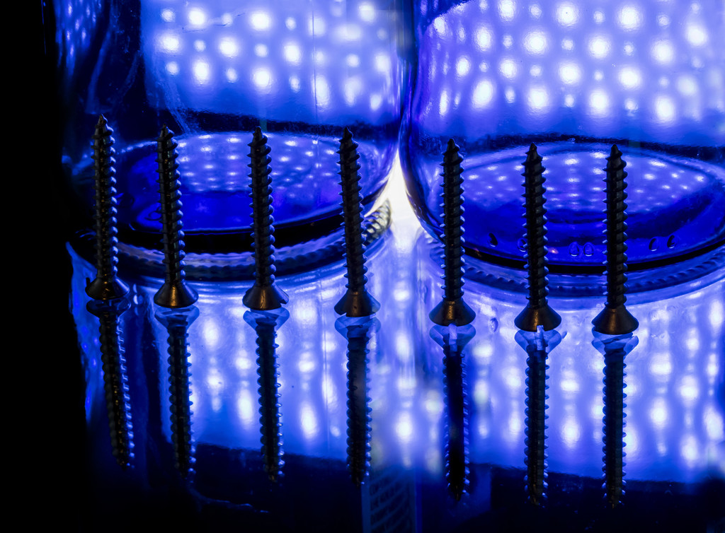 Blue Screws by kvphoto