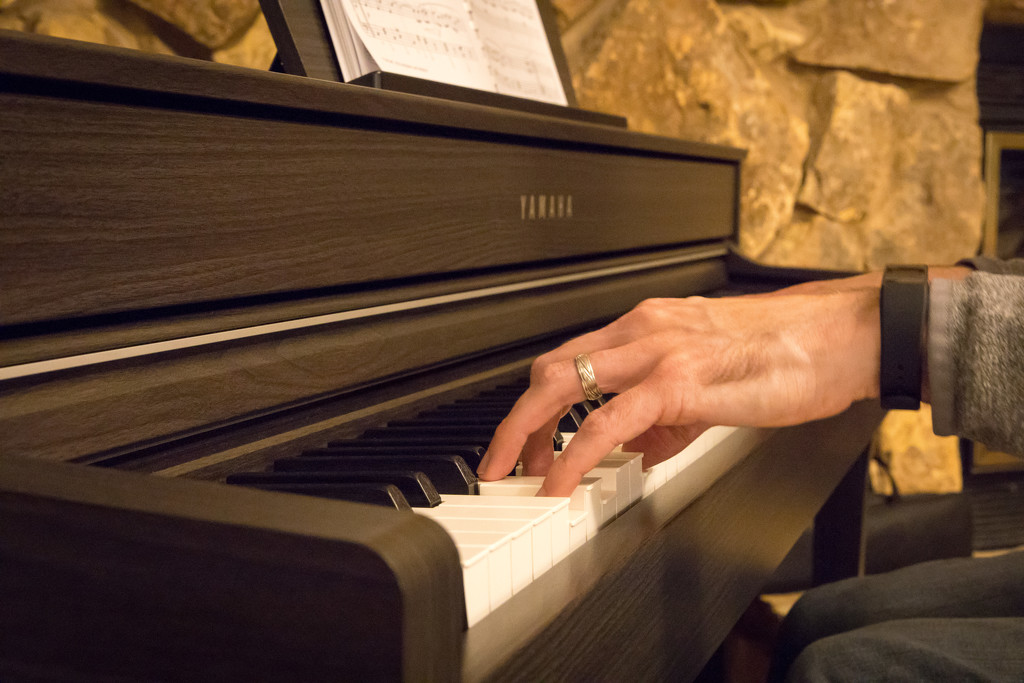 Tickling the keys or giving them a sherber? by mallocarray
