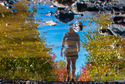 16th Oct 2020 - puddle reflections