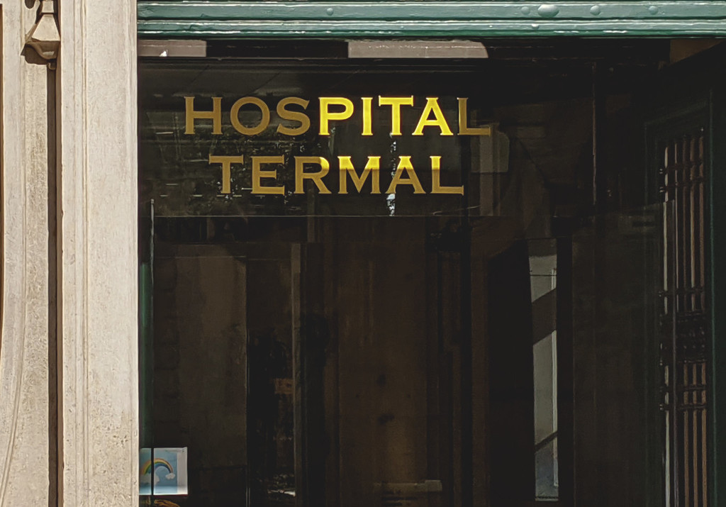 A hospital for Pain In The Anywhere by fotoblah