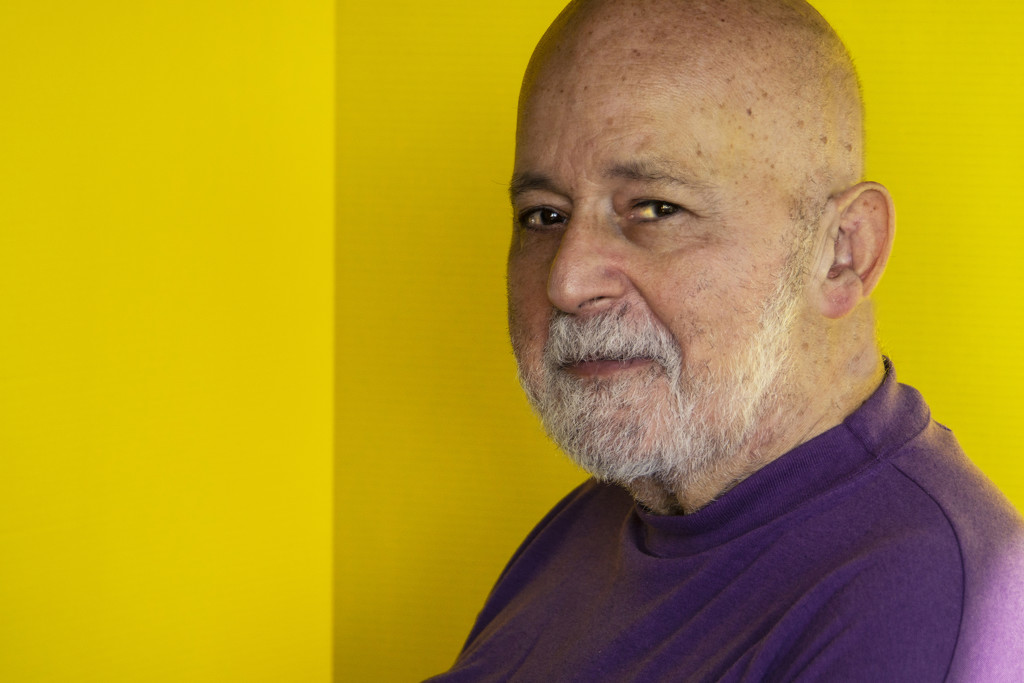 Yellow & Purple - with portrait by granagringa