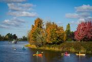 21st Oct 2020 - Paddling down the Nicomekl River