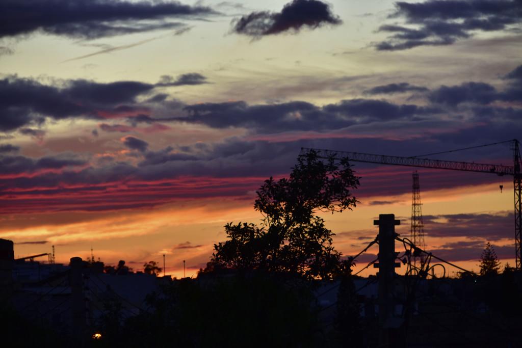 FIERY SUNSET by sangwann