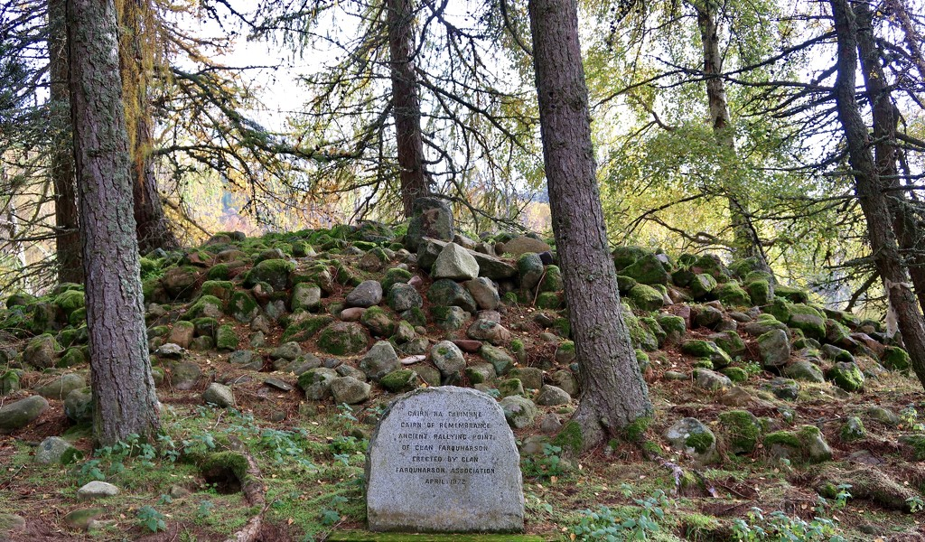 Clan Farquharson - Cairn of Remembrance by jamibann