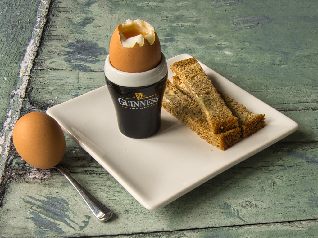 Boiled egg and soldiers. by 365projectmalh3