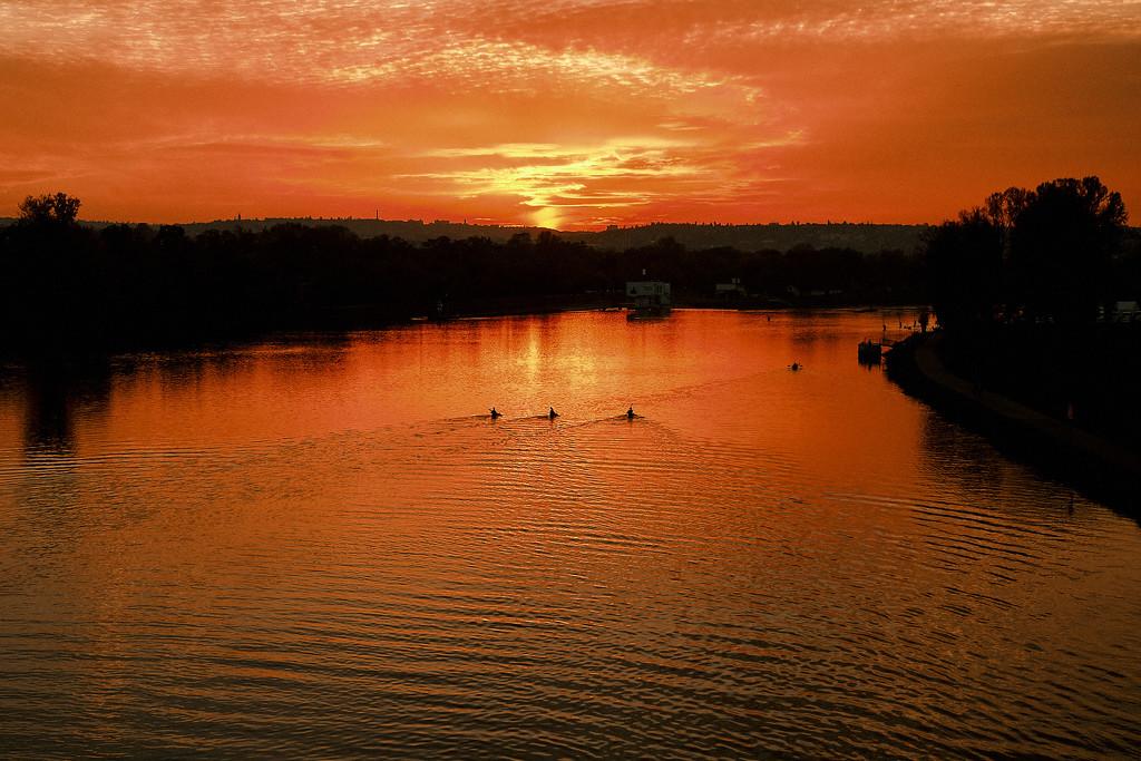 Prague Sunset by aj24photo