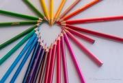 23rd Oct 2020 - Pencils #3 - a heart