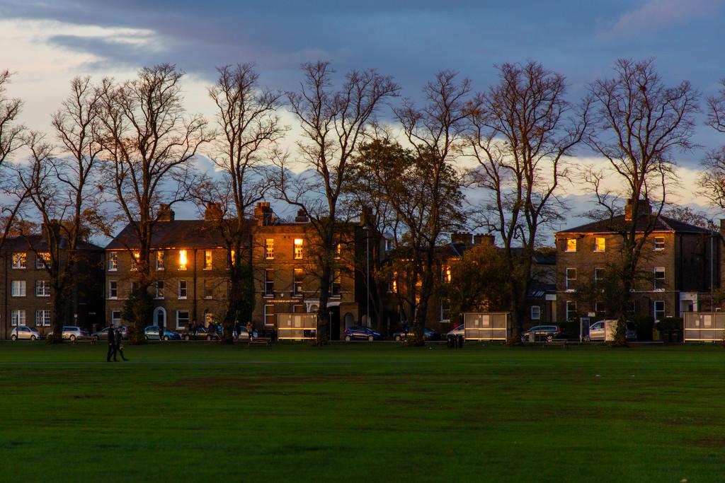 Sunset on Parkside by chrissreyn