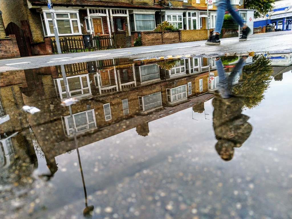 Avoiding the puddle by boxplayer