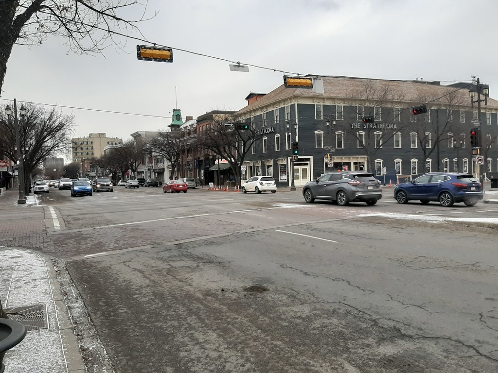 Whyte Avenue Today by bkbinthecity