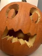 24th Oct 2020 - Pumpkin face