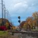 autumn small town, USA