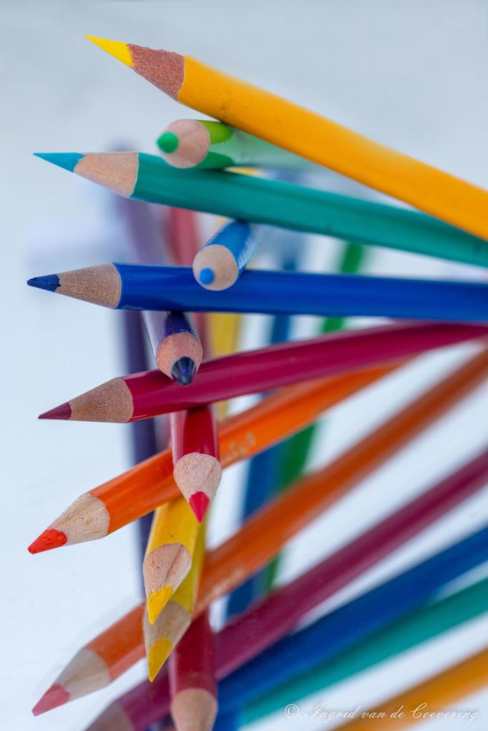 Pencils #5 - stacking by ingrid01