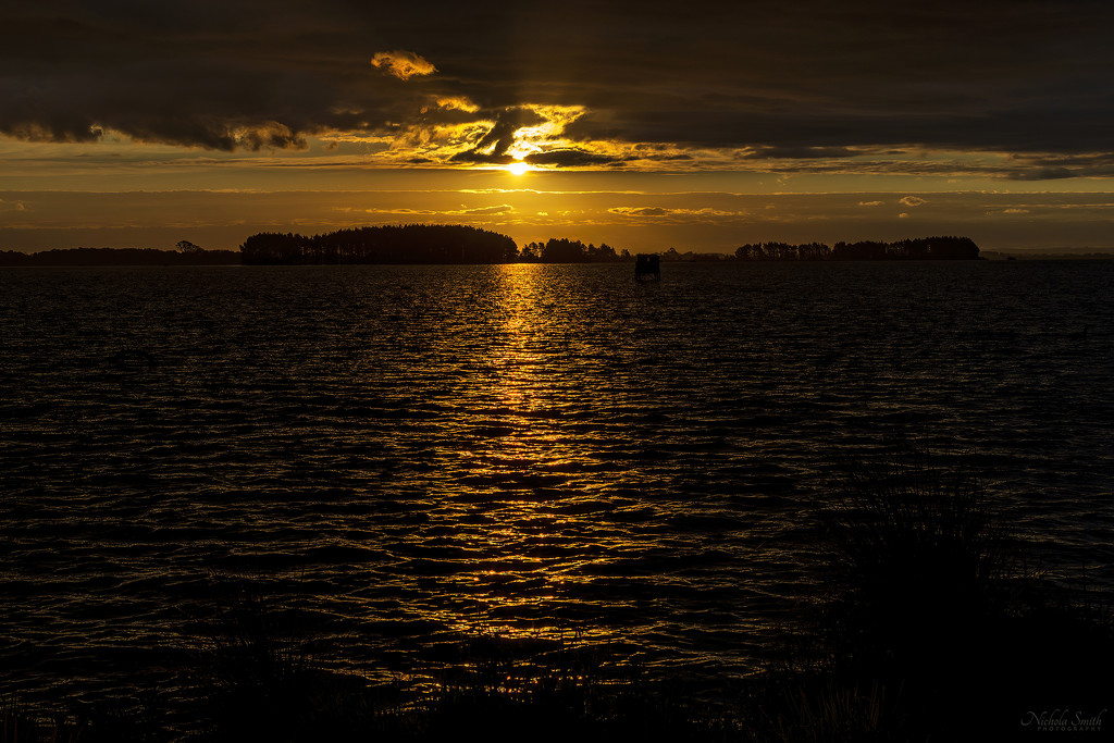 Reflected Sunset by nickspicsnz