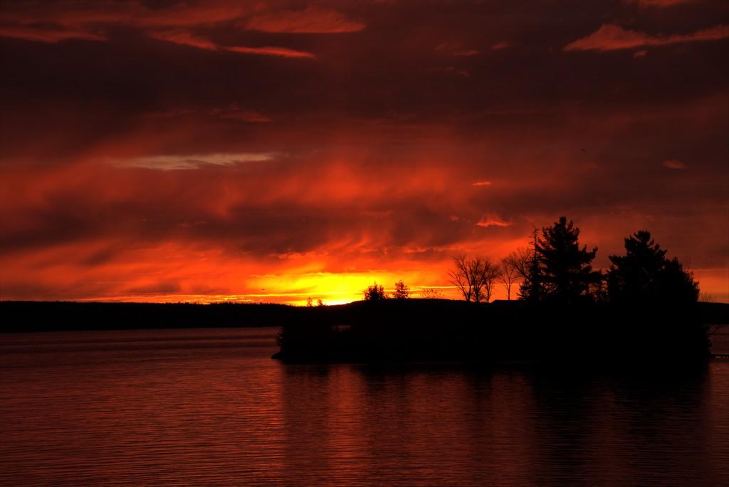 October Sunrise  by radiogirl