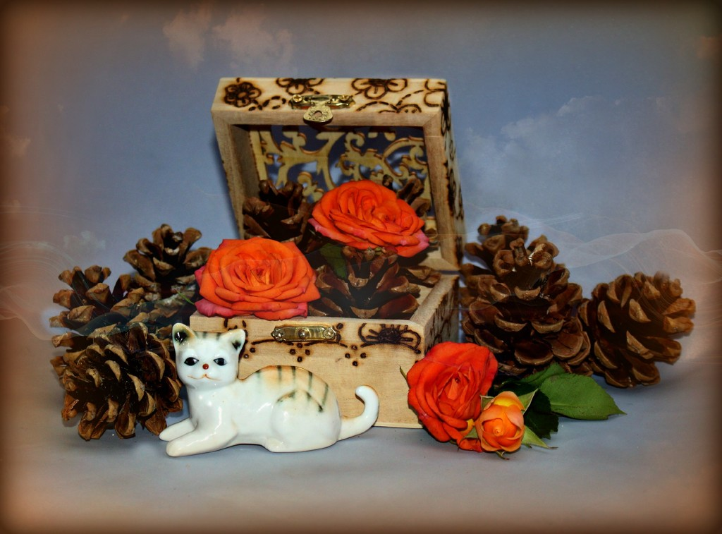 Autumn Roses by wendyfrost